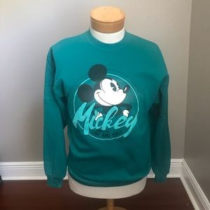 Vintage Mickey Mouse Crewneck Sweater